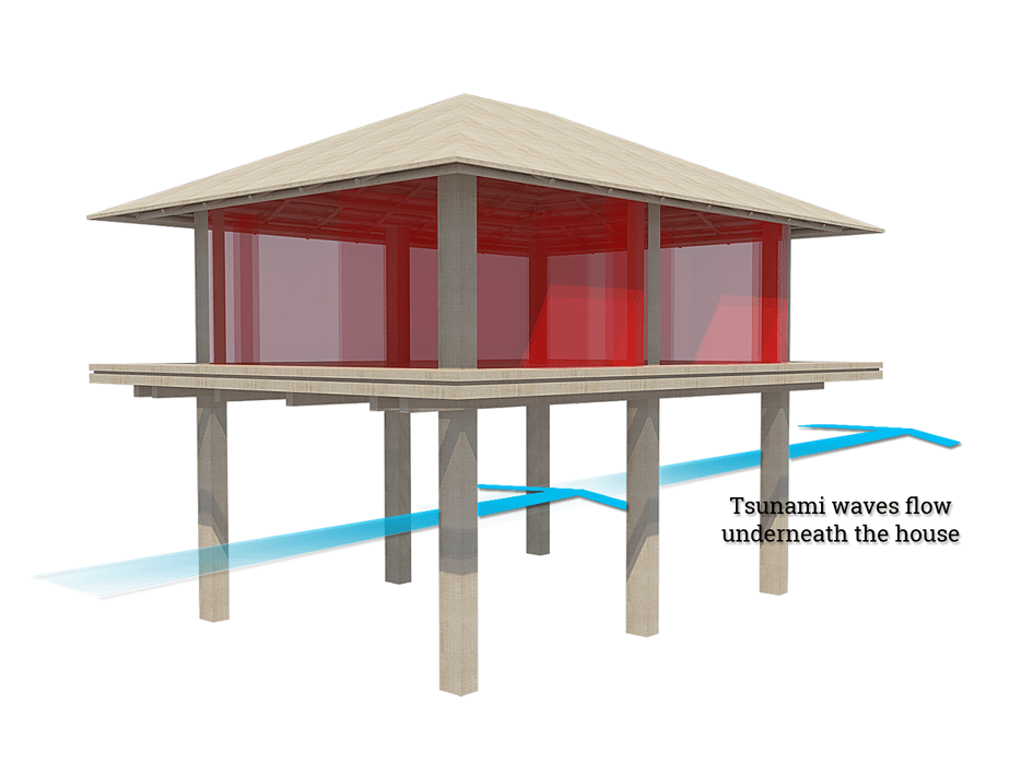 tsunami resisting structure design 2014-10-23  school called for making part of the new school a tsunami vertical evacuation structure that could host as many as a  with moment resisting connections this design resists the maximum considered hydrostatic, hydrodynamic,.